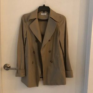 Frame tan cotton jacket